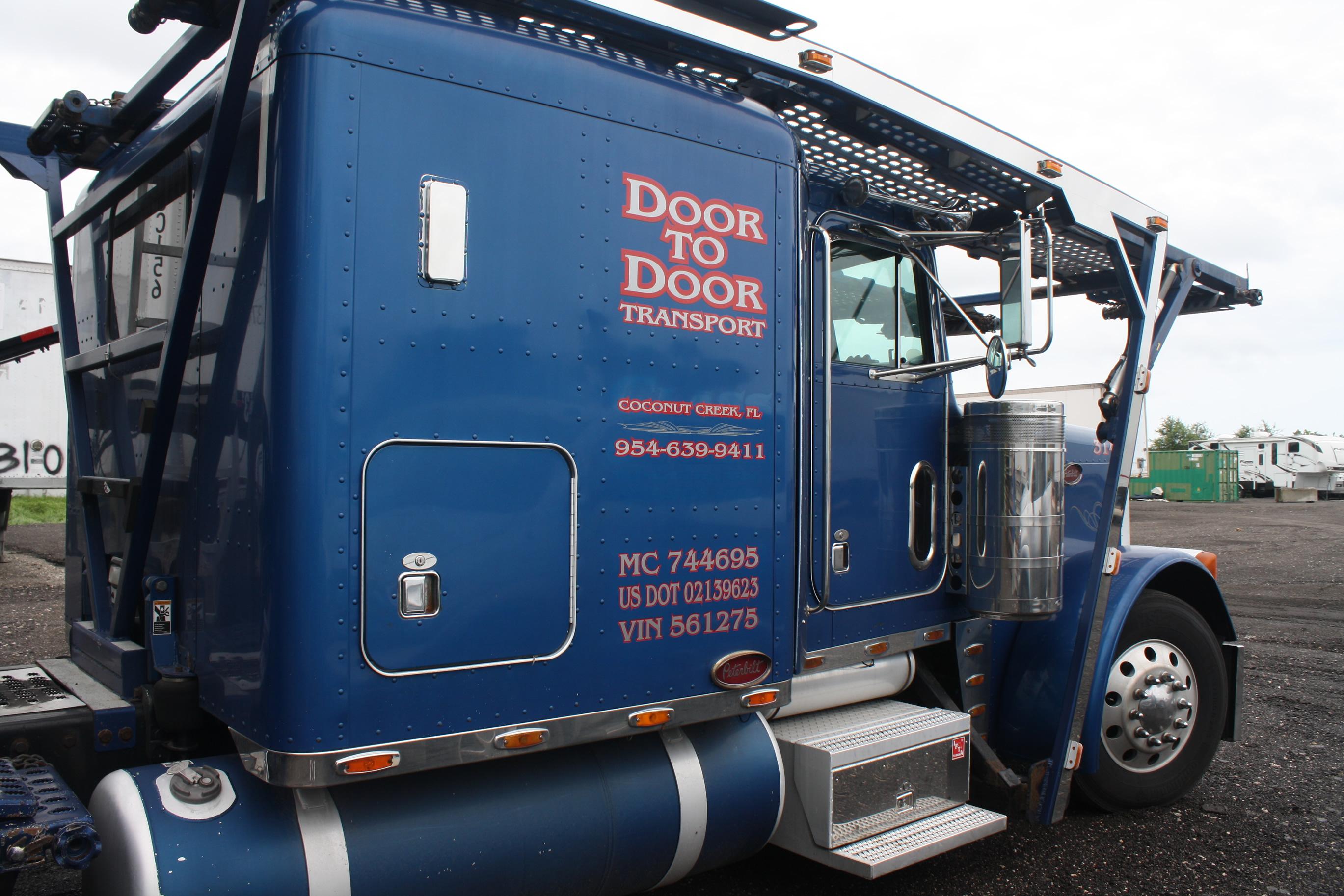 Enclosed motorcycle transport vs open trailers for Door to door transport
